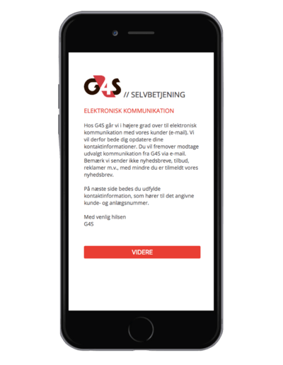 G4S - Kundecase