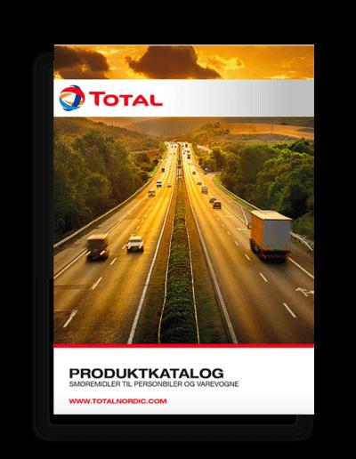 TOTAL Nordic Produktkatalog smøremidler til personbiler og varevogne